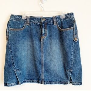 Vintage Tommy Hilfiger Size 14 Jean Skirt Cotton